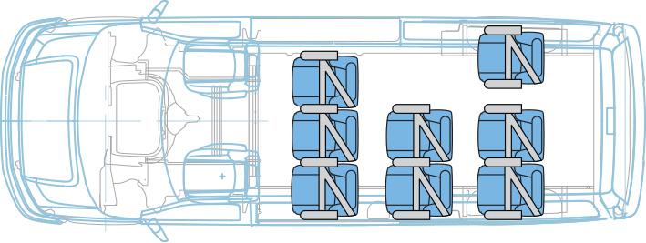MPV School Transport Configuration